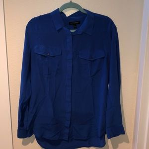 Banana Republic silk blouse. Size L